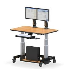 Multiple Monitor Standing Desk by Dual Monitor Standing Desk Images