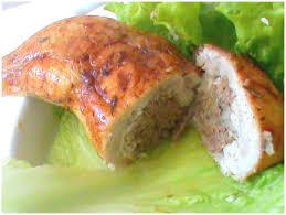 comment cuisiner une cuisse de poulet cuisses de poulet farçies à la viande hachée et fromage