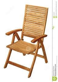 Folding Wooden Chair Stock Image. Image Of Settle, Chair ...