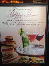 The Cheesecake Factory Happy Hour Are you a man or a mouse