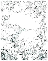 Hard Coloring Page Pages To Print Printable Unicorn
