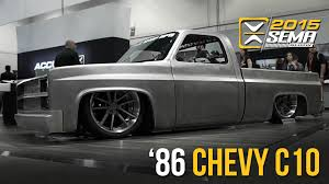 SEMA 2015 | 1986 Chevy C10 | Little Shop MFG - YouTube