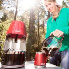 Coleman QuikPot 10 Cup Glass Carafe Outdoor Propane Coffee Maker