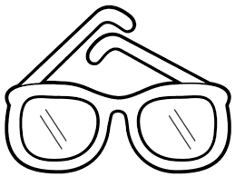 Pin Drawn Spectacles Coloring Page 9