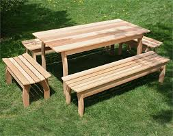 Image Of Cedar Outdoor Furniture Design