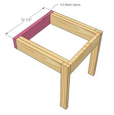 ana white four dollar stackable children u0027s chairs diy projects