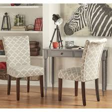Catherine Moroccan Pattern Fabric Parsons Dining Chair - Year Of ...