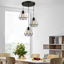 3er set pendelleuchte hängele deckenleuchte e27 kronleuchter hängeleuchte für esszimmer schlafzimmer modern