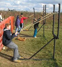 Celina Pumpkin Patch Directions by Try Your Aim With The Pumpkin Slingshot At Nauman U0027s Farm Corn