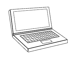 Draw Computer Coloring Pages 71 For Books With