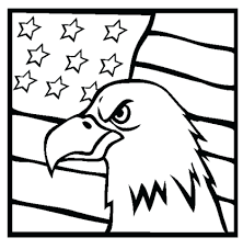 Flag Coloring Pages Print Kids American Page Pdf Sheet Kindergarten Free Printable Sheets Full Size