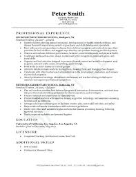 Sample Teacher Resume Format Good Example Of Preschool Resumes For Job