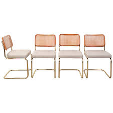 Marcel Breuer Style Chairs | 1stdibs.com | Beach Style ... 1970s Vintage Marcel Breuer Cesca Style Chairs A Pair Set Of 4 Ding By Paxton Upholstered Cream And Nutmeg 2 Knoll Intertional Laccio Table 5 Ding Chairs For Gavina Italy 1996 State Breuerstyle Chair In Chocolate What A Room Two Toned Hide Contemporary Pretty Old X Chair Tecta 1930s 40087