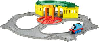 Thomas And Friends Tidmouth Sheds Trackmaster by Amazon Com Fisher Price Thomas The Train Take N Play Tidmouth