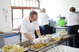 impressionen aus der küche bio catering safran