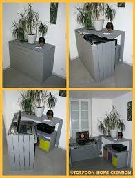 fabriquer un bureau avec des palettes fabriquer un bureau avec des palettes diy un bureau cachac