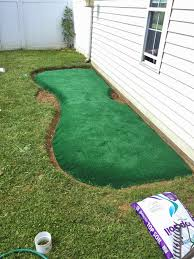 Little Bit Funky: How To Make A Backyard Putting Green! {DIY ... Playful Dog Running Away From Ball White Labradoodle Putting Greens Golf Just Like Grass Tour Backyard Green Cost Synlawn Itallations Reviews Testimonials Our Diy Kids Theater Emily A Clark Unique Architecturenice Little Bit Funky How To Make A Backyard Putting Green Wood Fence On Colorful House Stock Vector 606411272 Concrete Ideas Hgtvs Decorating Design Blog Hgtv Puttinggreenscom One Story Siding With Lawn View From The