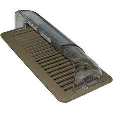 Adjustable Floor Register Deflector by Plastic Air Deflectors For Heating U0026 Cooling Vents Deflecto Advp