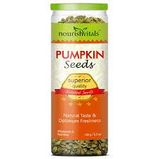 Are Unsalted Pumpkin Seeds Fattening by Nourishvitals Roasted Pumpkin Seeds Superior Quality U2013 150 Gm