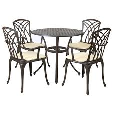 Bentley Garden Cast Aluminium Stamford 5 Piece Furniture Set Brompton Metal Garden Rectangular Set Fniture Compare 56 Bistro Black Wrought Iron Cafe Table And Chairs Pana Outdoors With 2 Pcs Cast Alinium Tulip White Vintage Patio Ding Buy Tables Chairsmetal Gardenfniture Italian Terrace Fniture Archives John Lewis Partners Ala Mesh 6seater And Bronze Home Hartman Outdoor Products Uk Our Pick Of The Best Ideal Royal River Oak 7piece Padded Sling Darwin Metal 6 Seat Garden Ding Set
