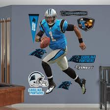 Fathead Baby Wall Decor by Fathead Carolina Panthers Cam Newton Home Decal