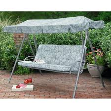 Patio Swings With Canopy by Rectangle Green Two Seat Patio Swing With Canopy For Backyard