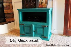 How to paint with DIY chalk paint