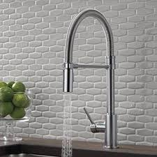delta faucet 9659 dst trinsic pro single handle pull down kitchen