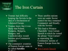 Who Coined The Iron Curtain by The 1946 Through The 1950 U0027s Remembering Wwii Ppt Download
