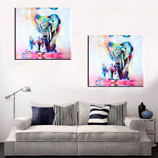 4Pcs Sea Landscape Canvas Painting Modern Frameless Wall Art Bedroom
