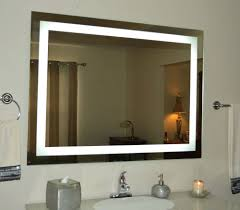 lights wall mounted lighted magnifying mirror bronze led