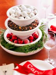 Christmas Centerpiece Ideas Stacked