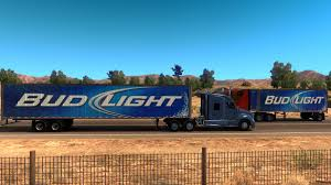 100 Bud Light Truck BUD LIGHT TRAILERS STANDALONE V20160930A TRAILER American