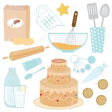 Baking A Cake Royalty Free Cliparts Vectors And Stock