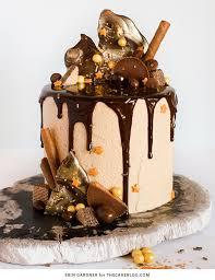 Drippy Ganache birthday cake decorating ideas