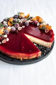glühwein cheesecake mit spekulatiusboden
