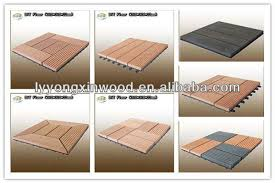 supply wpc tile wpc fence material waterproofing wpc balcony tiles