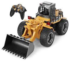 RC Tractor Front Loader Remote Control Bulldozer Truck 6CH ... Tamiya 110 Super Clod Buster 4wd Kit Towerhobbiescom America Inc 112 Lunch Box Rc Van Release Horizon Hobby Kids Cross Country Muddy Suv Remote Control Truck Vehicle Car Toy 18 Scale Monster Jam Grave Digger Playtime In The Trucks Toysrus 4x4 Bug Crusher Nitro 60mph Off Road Dodge Ram Offroad Woffroad Tires Gptoys S919 Control 20mph 24ghz Big 44 Best Resource Adventures River Rescue Attempt Chevy Beast Radio The Bike Review Traxxas 116 Slash Remote Truck Is