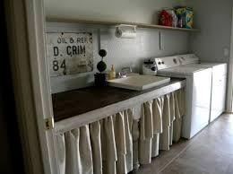 Burlap Utility Sink Skirt by 94 Best Skirts For Sinks Images On Pinterest Laundry Room