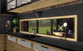 Sims 3 Kitchen Ideas by Glass Free Windows Pink Rabbit