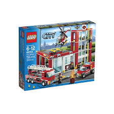 60004 Lego City Fire Station, Toys & Games, Bricks & Figurines On ...