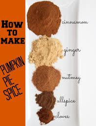 Ingredients For Pumpkin Pie Mix by How To Make Pumpkin Pie Spice