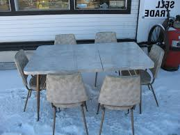 Image Of Vintage Kitchen Table Chairs