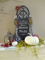Tombstone Sayings For Halloween by Chalkboard Tombstone Free Printable