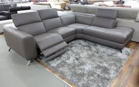 Sears Natuzzi Sectional Sofa by 3 Seater Sofa With 2 Reclining Seats Centerfieldbar Com