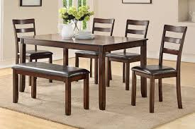 Dining Table + 4 Chairs & Bench (F2547) | BB's Furniture Store 4 Chair Kitchen Table Set Ding Room Cheap And Ikayaa Us Stock 5pcs Metal Dning Tables Sets Buy Amazoncom Colibrox5 Piece Glass And Chairs Caprice Walkers Fniture 5 Julia At Gardnerwhite Pc Setding Wood Brown Ikayaa Modern 5pcs Frame Padded Counter Height Ding Set Table Chairs Right On Time Design 4family Elegant Tall For Sensational