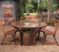 Rustic Outdoor Furniture Cottage