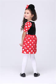wholesale new cute girls kids party dresses girls red polka dots