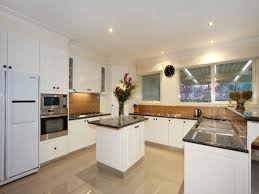 U Shaped Kitchen Design With Island Designs Advantages And