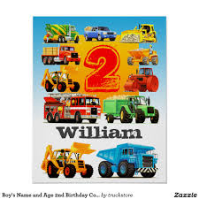 Boy's Name And Age 2nd Birthday Construction Truck Poster From ... Dump Truck Birthday Party Ideas B82 Youtube Cstruction Party Free Printable Signs Decorations Favors Dump Gifts Here Sign Diy Instant Download Cstruction Favors Boys Pinterest 100 Monster Jam Supplies Trucks Paper Plates Birthday Cstruction Candy Bar Fab Everyday Because Life Should Be Fabulous Www Image Inspiration Of Cake And Invitation Digger Best 25 Parties Ideas On